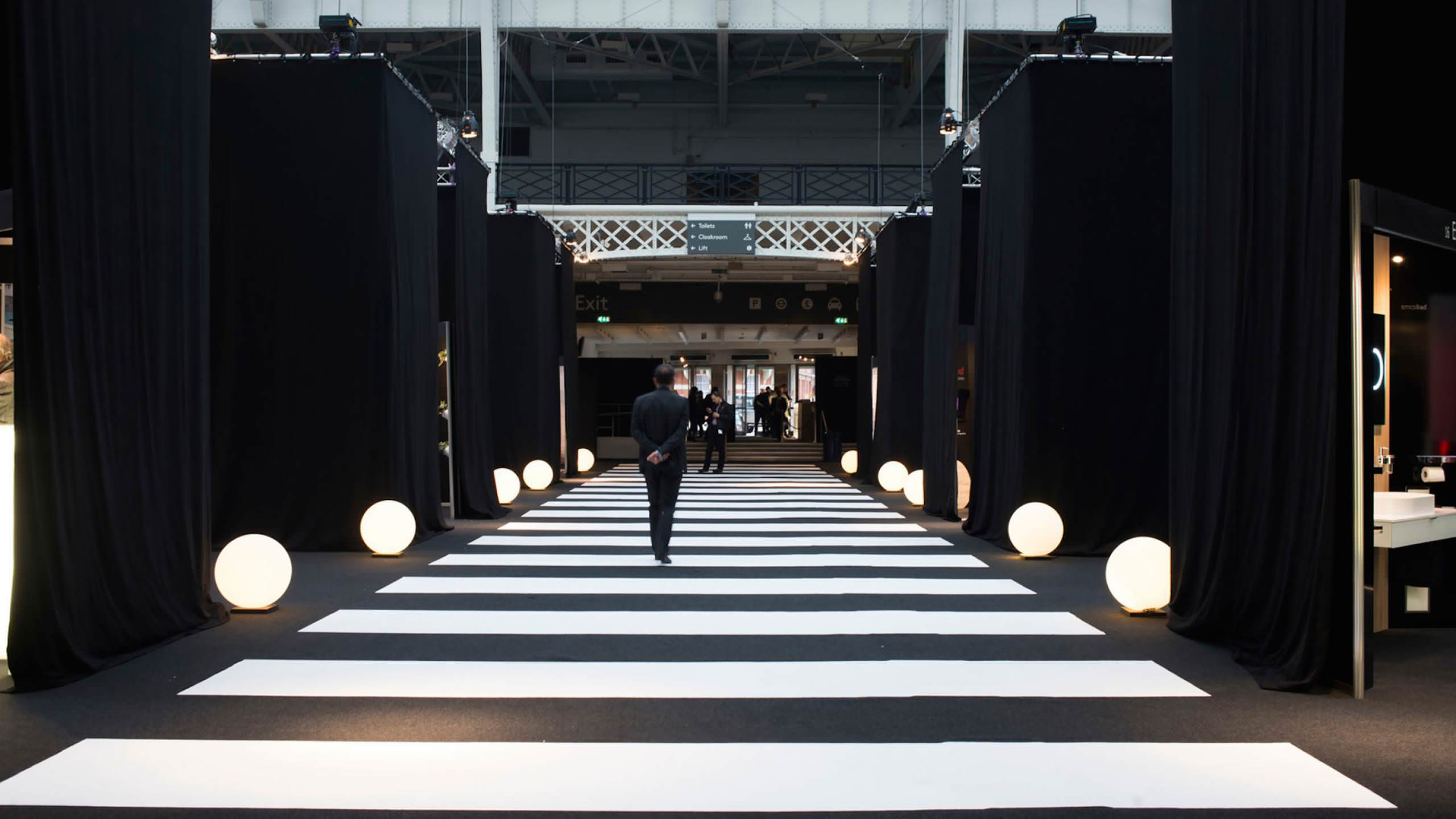 Architects work exhibition surface matters for Architect at work